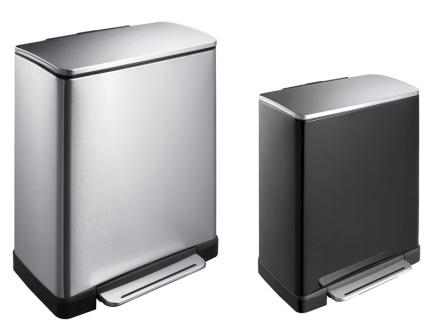 c c benelux poubelle rectangulaire 20l 40l 50l. Black Bedroom Furniture Sets. Home Design Ideas